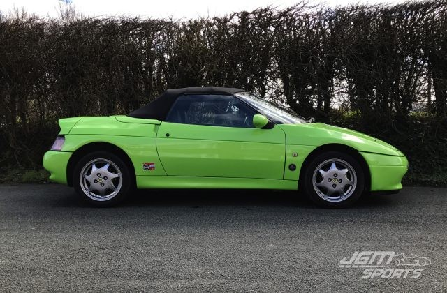 1990 LOTUS ELAN SE TURBO PISTACHIO GREEN EXTENSIVE SERVICE HISTORY