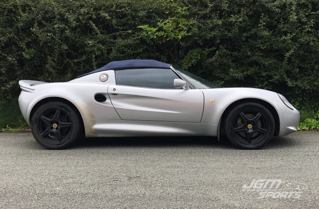 1997 S1 LOTUS ELISE NEW ALUMINIUM EARLY MODEL CLOSE RATIO GEARBOX MMC BRAKES **PROJECT**