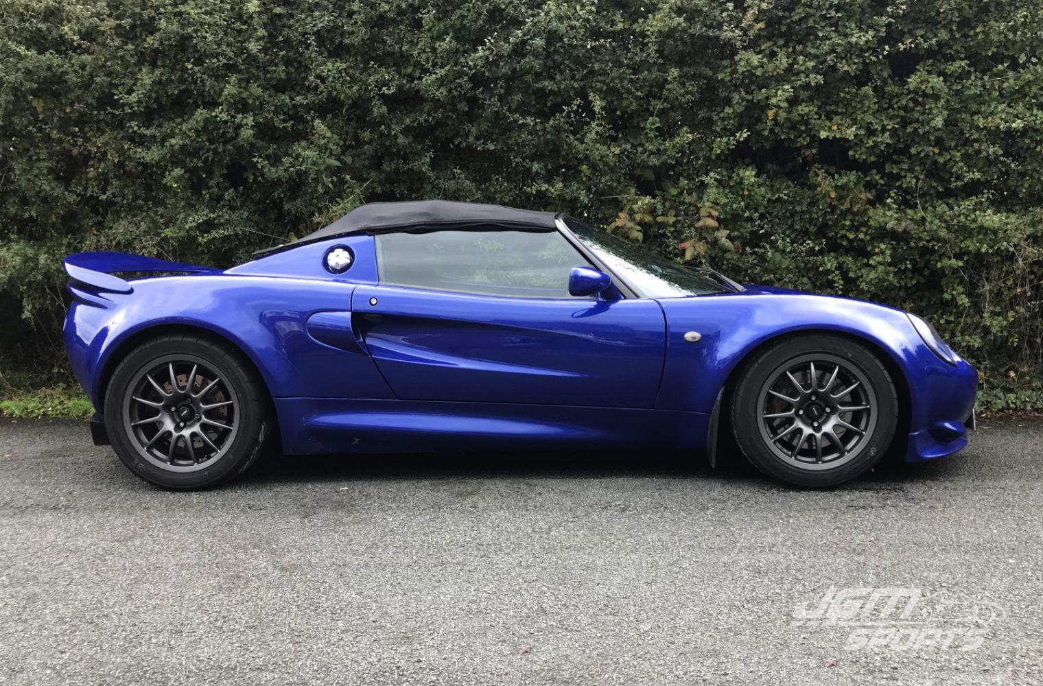 1998 S1 Lotus Elise Azure Blue Massive Spec Honda