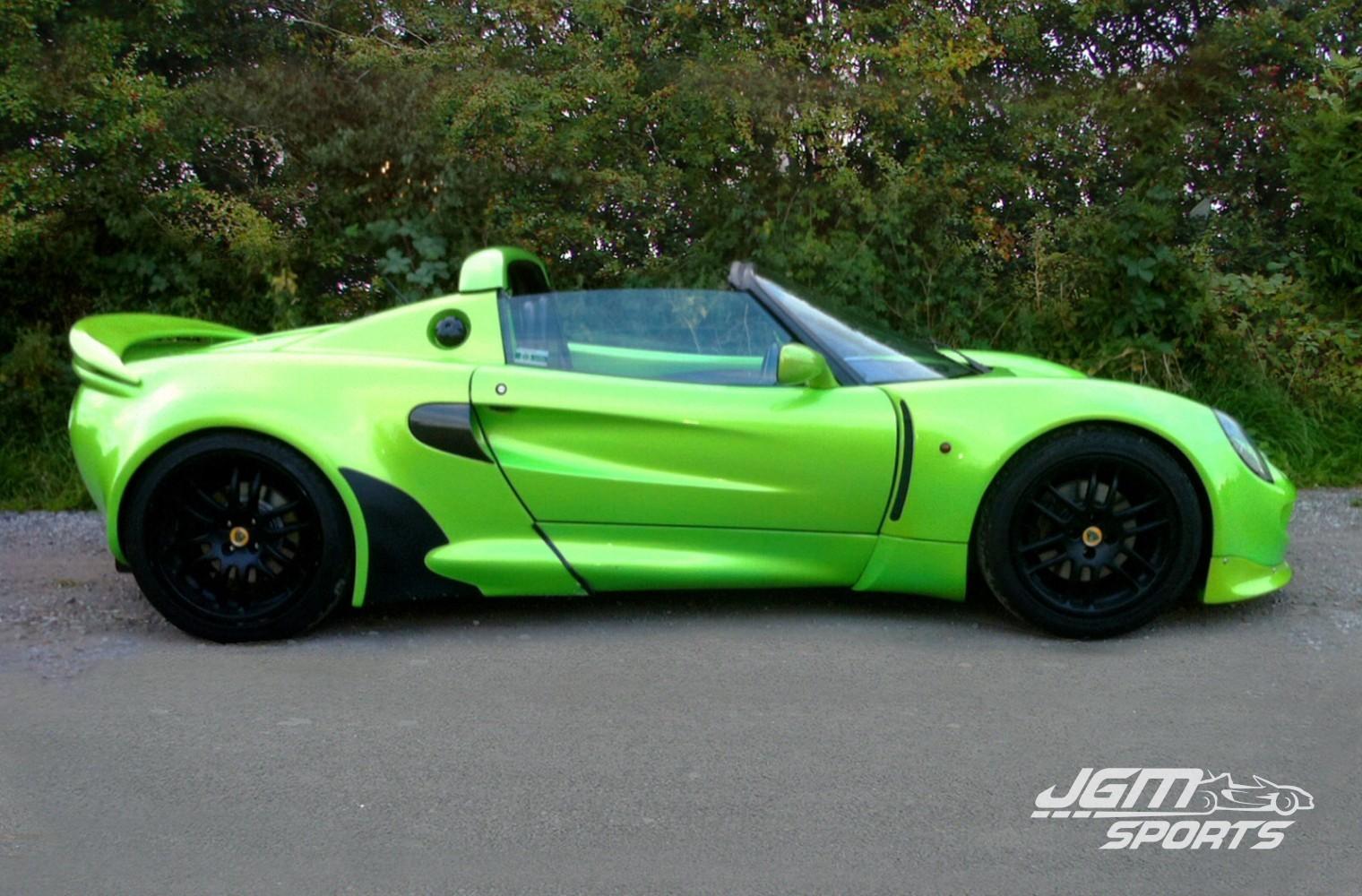 1999 S1 LOTUS ELISE CUSTOM CAR WIDE ARCH VVC ENGINE › JGMsports