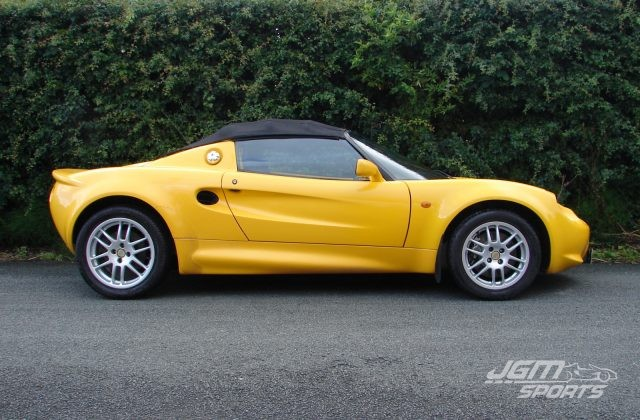 1999 S1 LOTUS ELISE SPICE YELLOW LOVELY CONDITION HEAD GASKET RECENTLY DONE