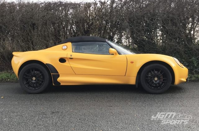1999 S1 LOTUS ELISE SPICE YELLOW LOVELY CONDITION STUNNING