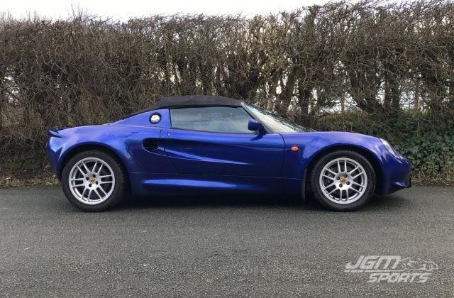 2000 S1 LOTUS ELISE AZURE BLUE FULL HISTORY VERY HONEST CAR