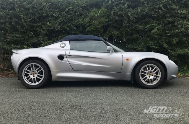 2000 S1 LOTUS ELISE HPI CLEAR FULL HISTORY CLOSE RATIO GEARBOX 135BHP BARGAIN