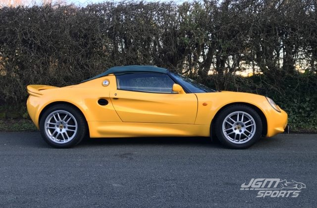 2000 S1 LOTUS ELISE MUSTARD YELLOW RECENT CAMBELT VERY COMPETITIVELY PRICED