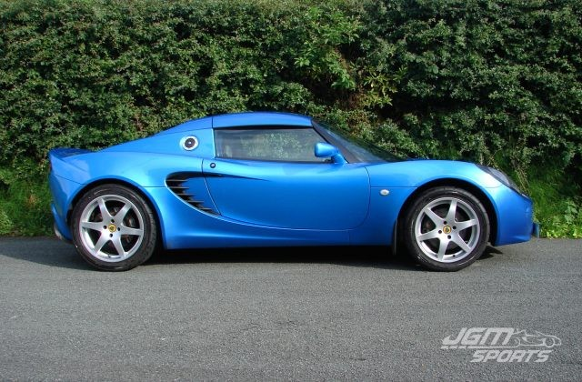 2001 S2 LOTUS ELISE LAZER BLUE SHORT ROOF CONVERSION WITH NO EXPENSE SPARED HISTORY