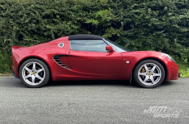 2001 S2 LOTUS ELISE RACE TECH RUBY RED CUSTOM PROBAX INTERIOR JUST C SERVICED