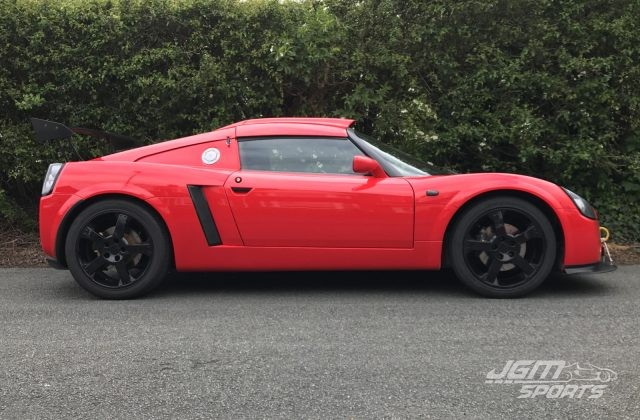 2001 VAUXHALL VX220 CALYPSO RED COUPE CONVERSION STAGE 2 SUPERCHARGED