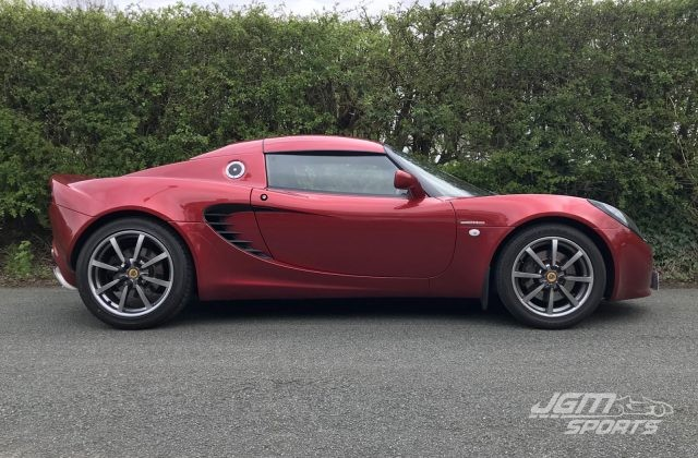 2003 S2 LOTUS ELISE 111S RUBY RED STUNNING CONDITION