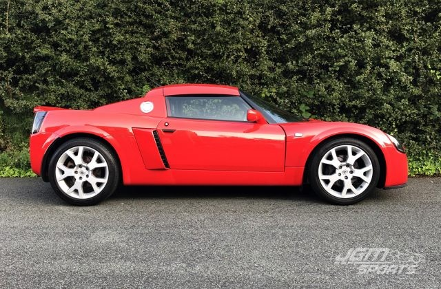 2004 VAUXHALL VX220 TURBO CALYPSO RED EX PROMO CAR STAGE 2