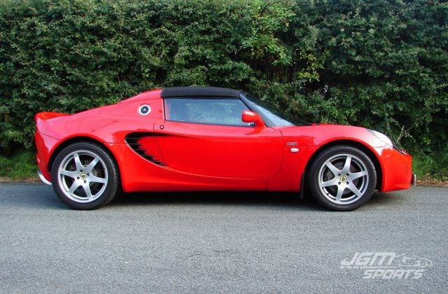 2006 S2 LOTUS ELISE S ARDENT RED AIR CONDITIONING STUNNING PRISTINE CONDITON