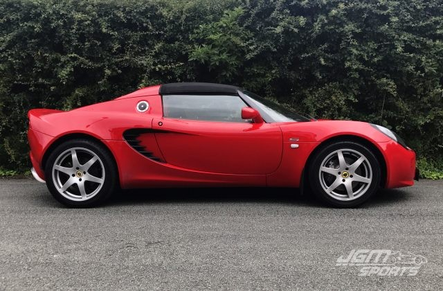 2006 S2 LOTUS ELISE S ARDENT RED EXCELLENT CONDITION SPORTS EXHAUST