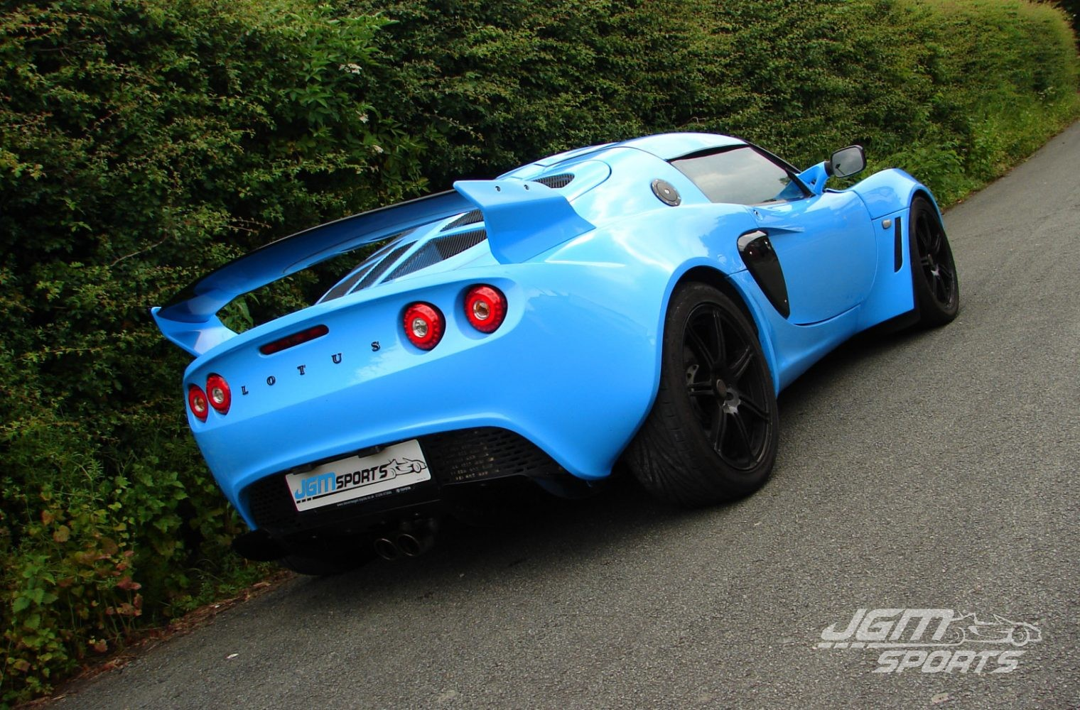 2006 s2 lotus exige s converted sports racer porsche riviera blue 230bhp jgmsports. Black Bedroom Furniture Sets. Home Design Ideas