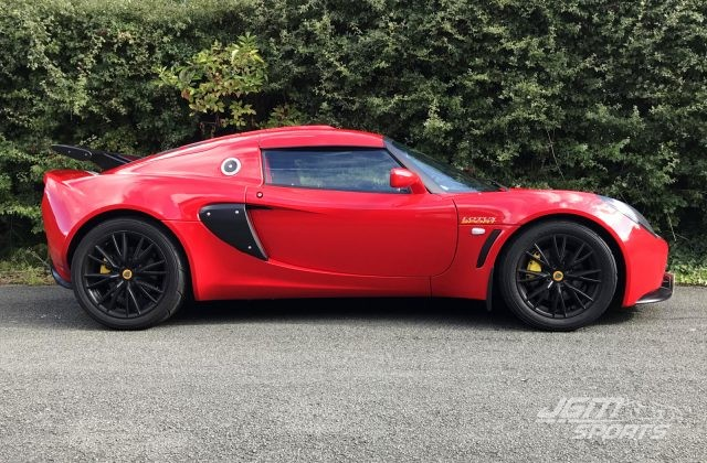 2006 S2 LOTUS EXIGE TOURING ARDENT RED WITH STRIPES STUNNING ONLY 9K MILES!