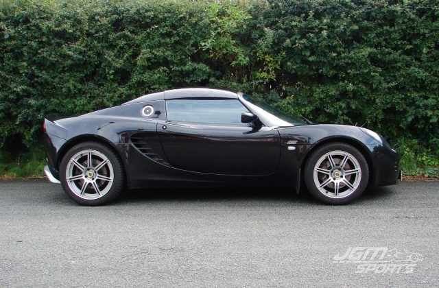 2008 S2 LOTUS ELISE S TOURING PACK STARLIGHT BLACK AIRBAG DASH FORGED WHEELS AND HARDTOP