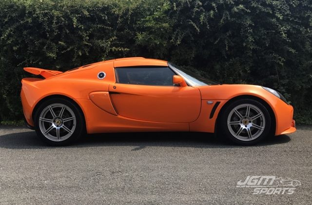 2008 S2 LOTUS EXIGE SPORTS PACK CHROME ORANGE HIGH FACTORY SPECIFICATION