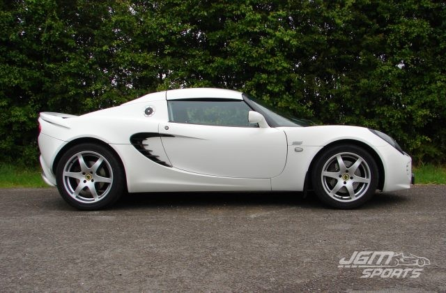 2009 S2 LOTUS ELISE S FACTORY ORDERED ASPEN WHITE AIRBAG DASH LOVELY CONDITION