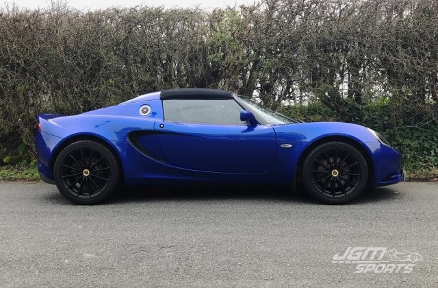 2010 S3 LOTUS ELISE 1.6 PERSIAN BLUE VERY LOW MILES LIKE NEW